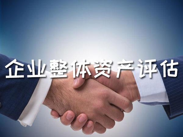 企业整体资产评估